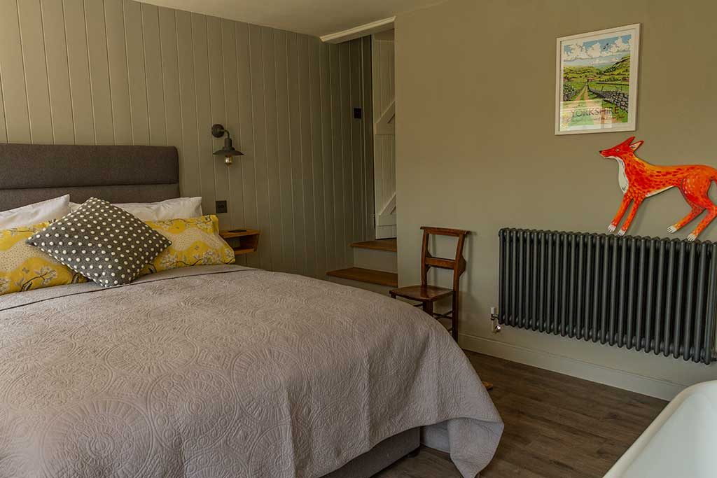 Billy Gills Cottage Bedroom Swaledale