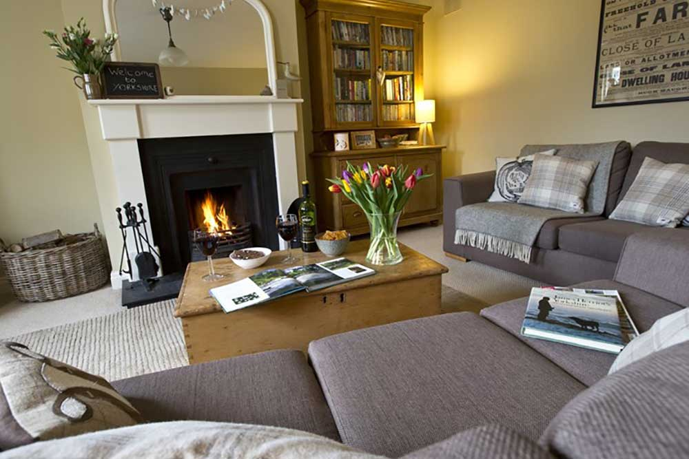 Nurse Cherry Cottage Swaledale Living Room