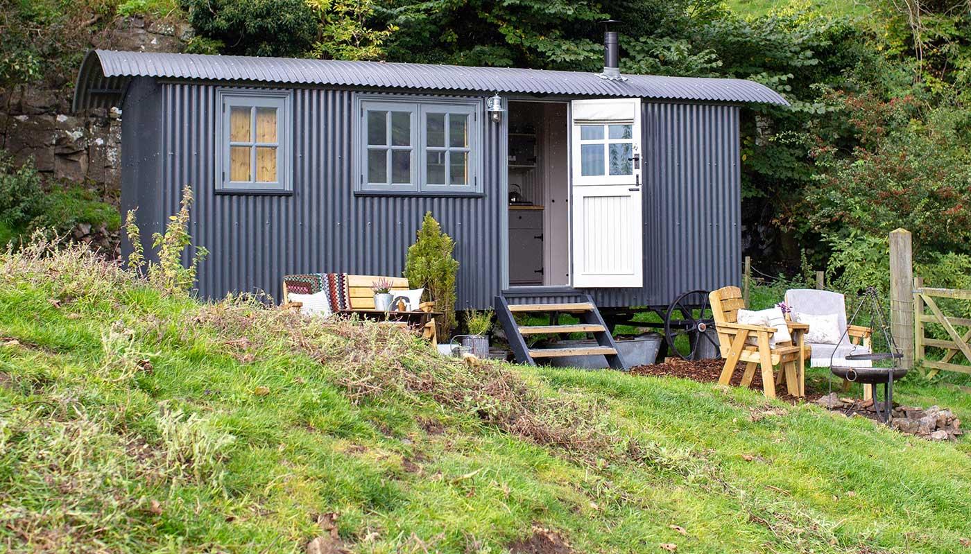 Shepherds Hut Swaledale Yorkshire Dales