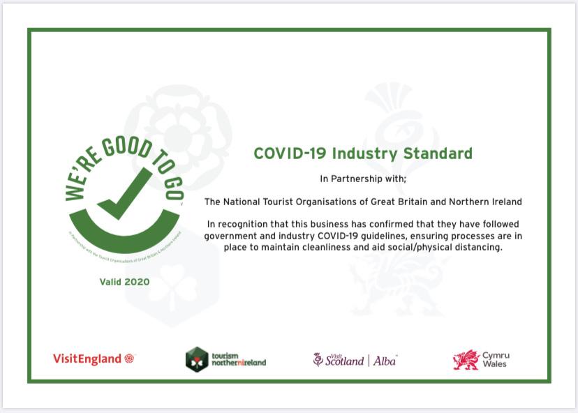 Covid Industry Standard Certificate